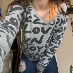 Cute love sweatshirt